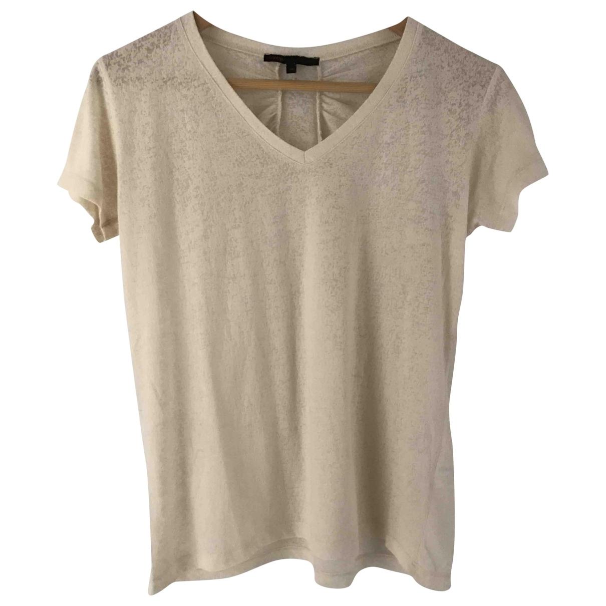 Maje - Top   pour femme en coton - ecru