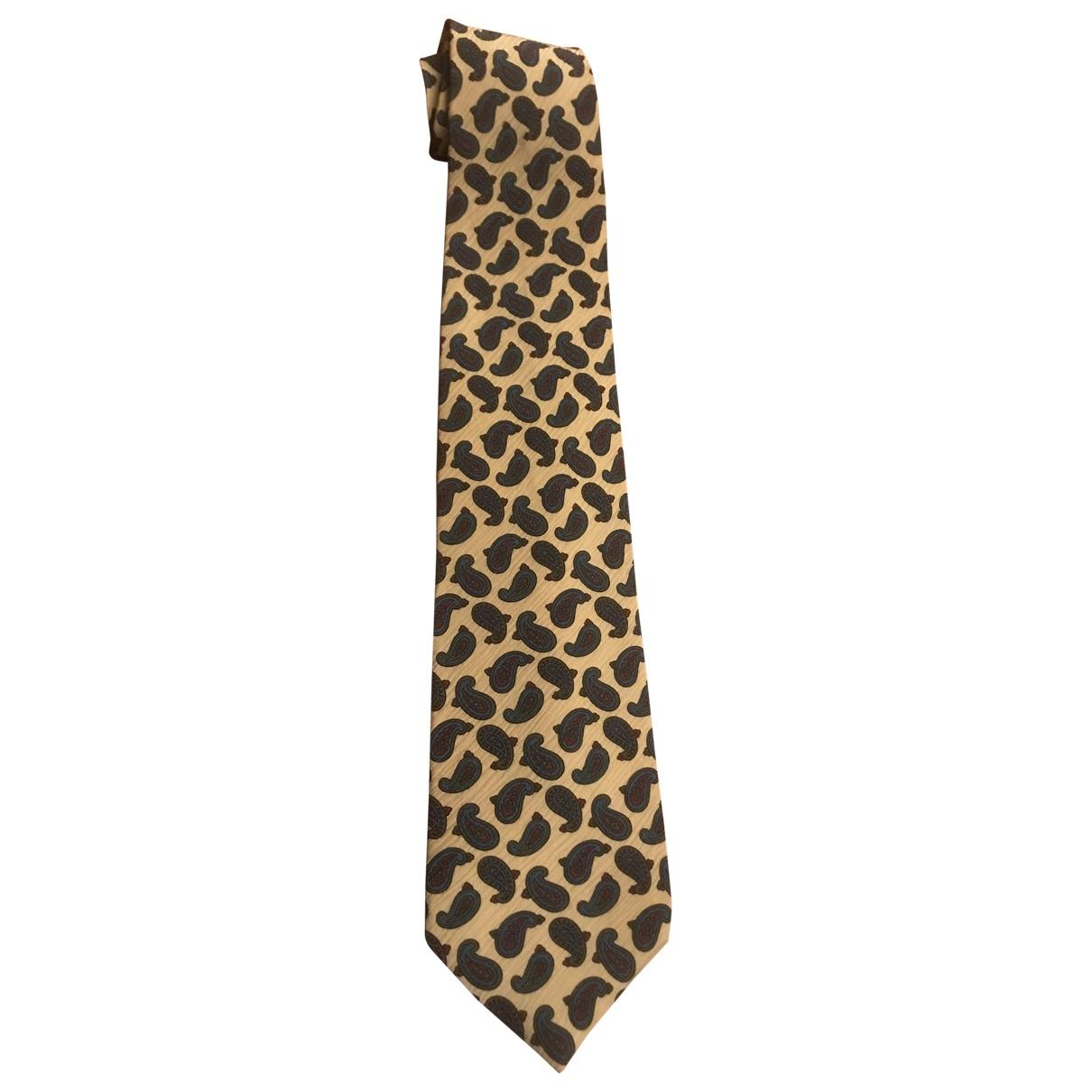 Giorgio Armani - Cravates   pour homme en soie - beige