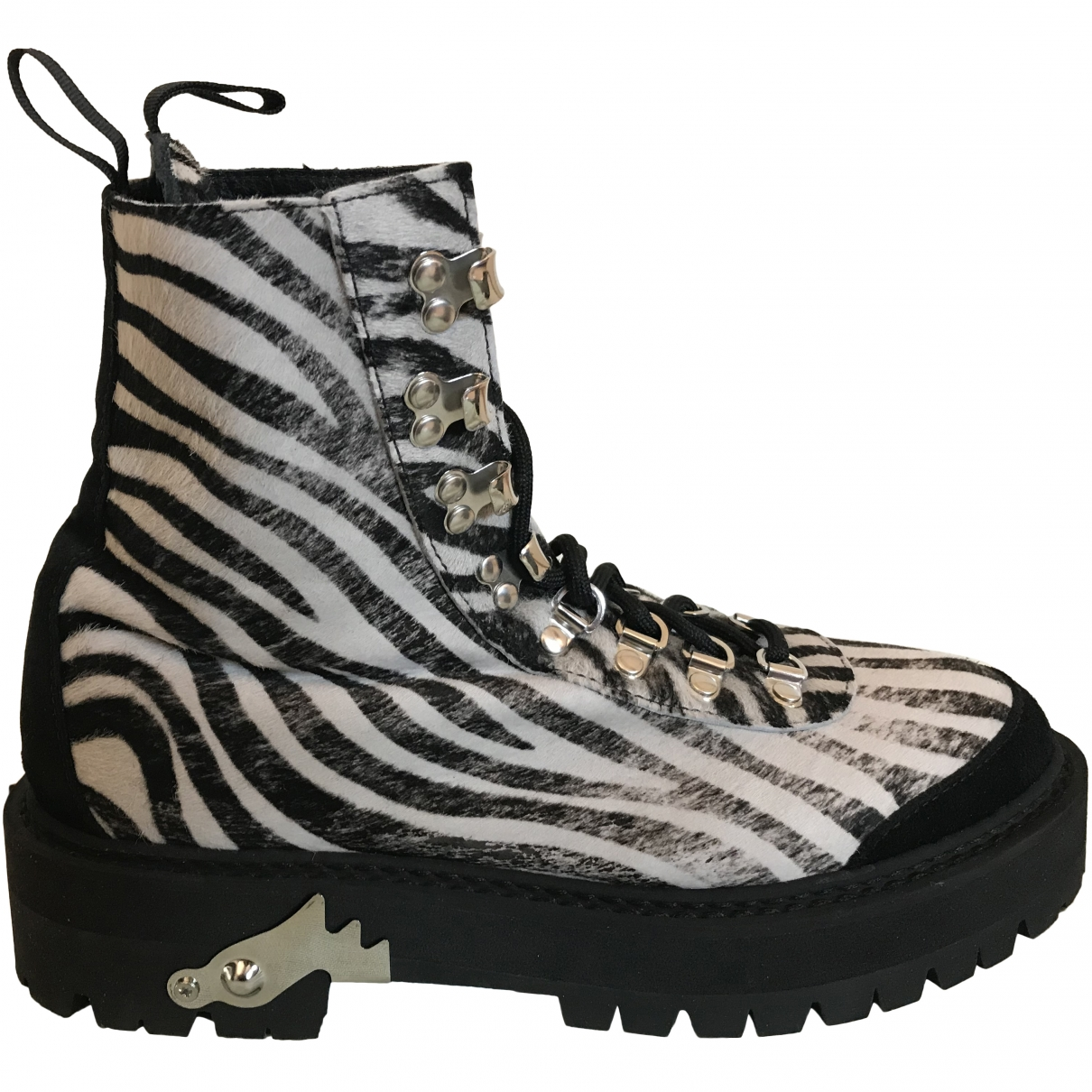 Off-white \N Rubber Boots for Women 38 EU