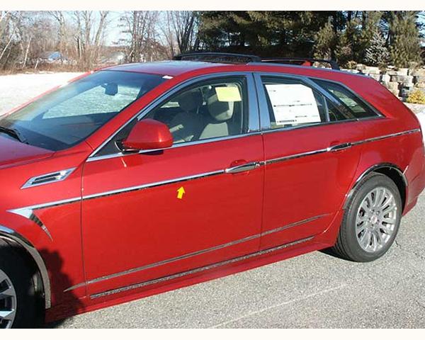 Quality Automotive Accessories 14-Piece 1-Inch Width Arrow Accent Trim Cadillac CTS 2010