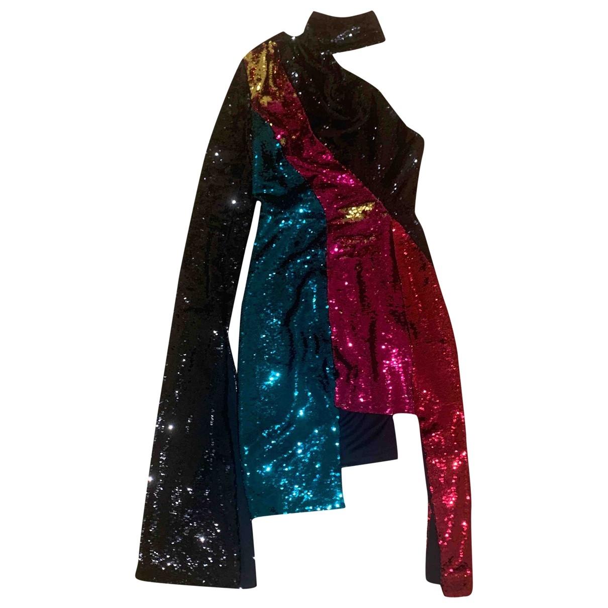 16 Arlington \N Kleid in  Schwarz Mit Pailletten