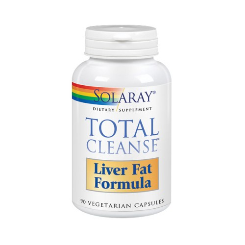Total Cleanse Liver Fat Formula 90 Veg Caps by Solaray