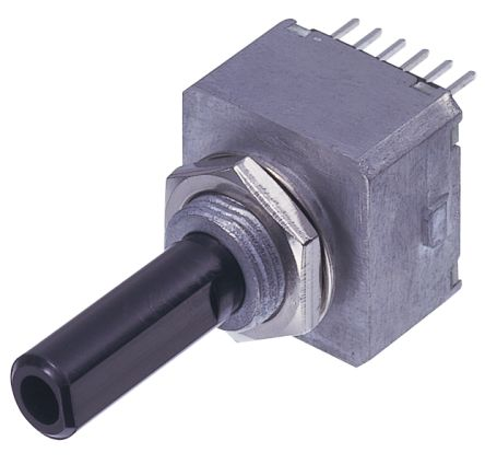 Copal Electronics 5V dc 50 Pulse Optical Encoder with a 6 mm Flat Shaft, Through Hole, Wire Lead