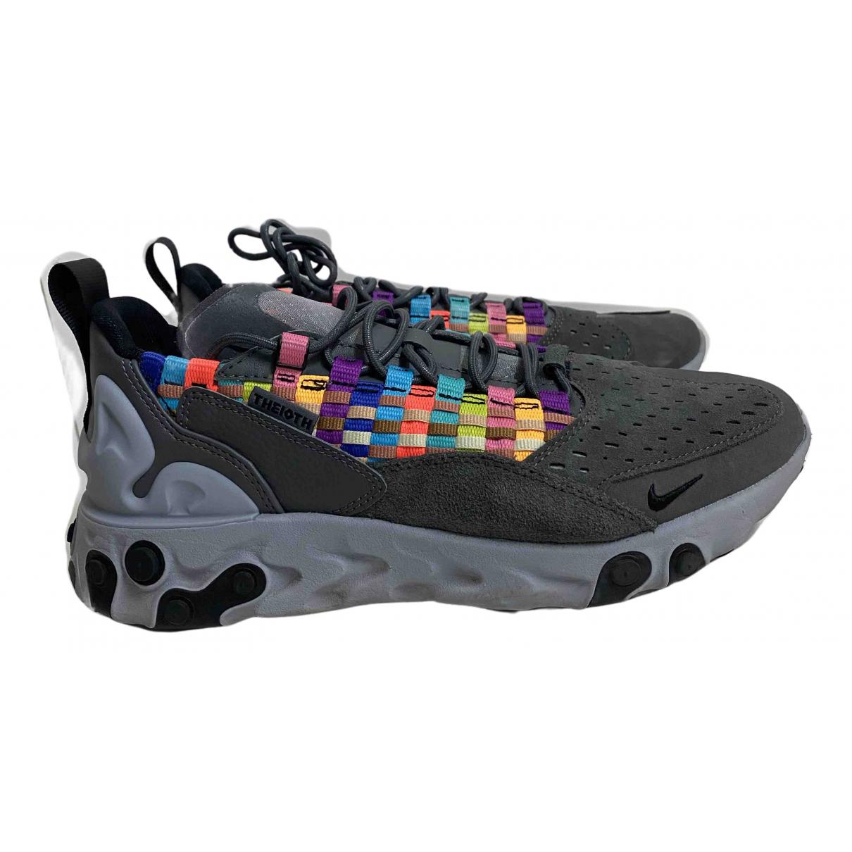 Nike \N Sneakers in  Anthrazit Leinen