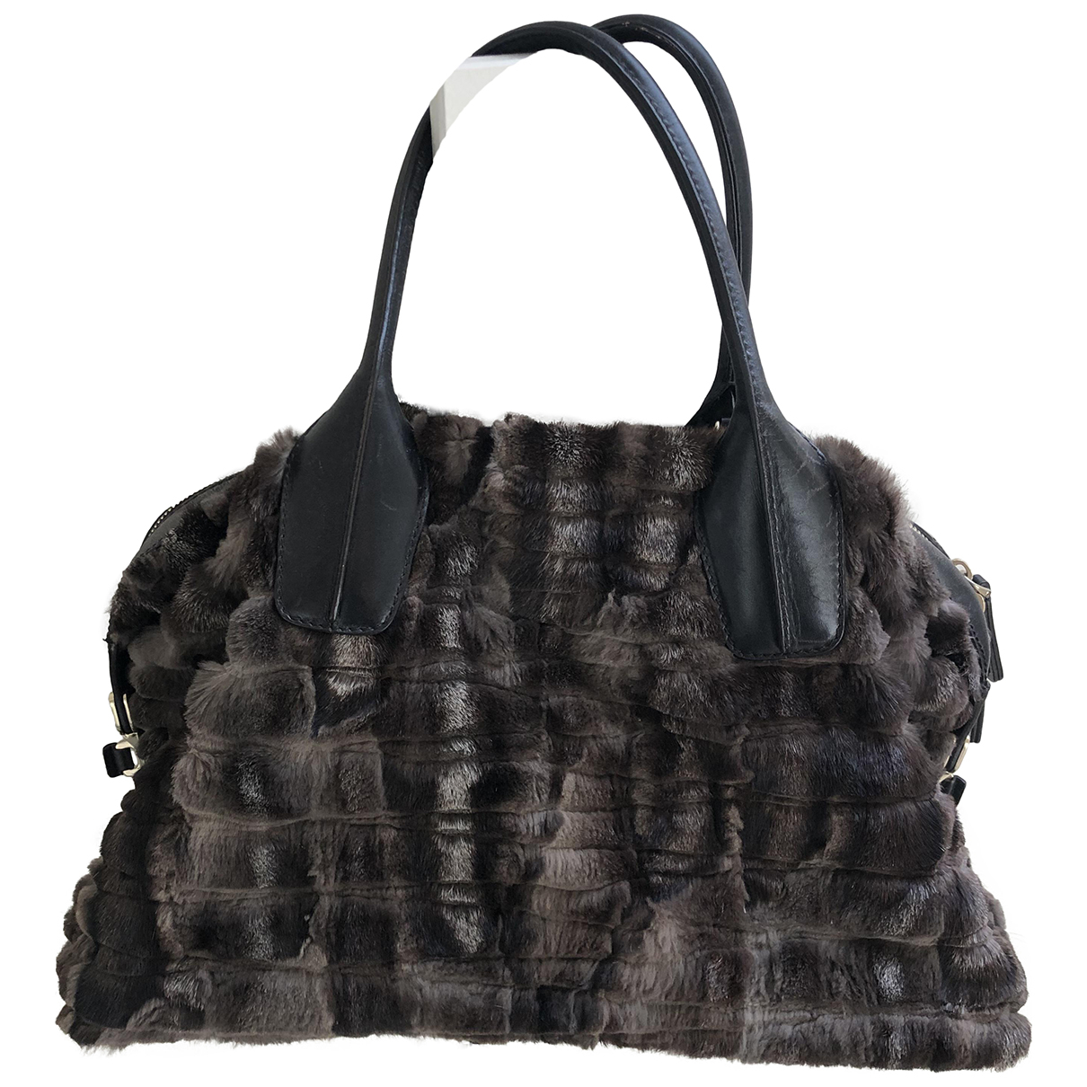 Tods N Brown Fox handbag for Women N