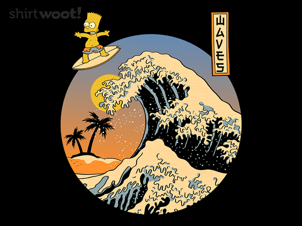 Waves In Springfield T Shirt