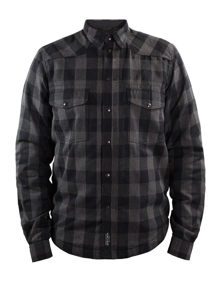 John Doe Motoshirt XTM Camiseta Motorista Gris Negro  S