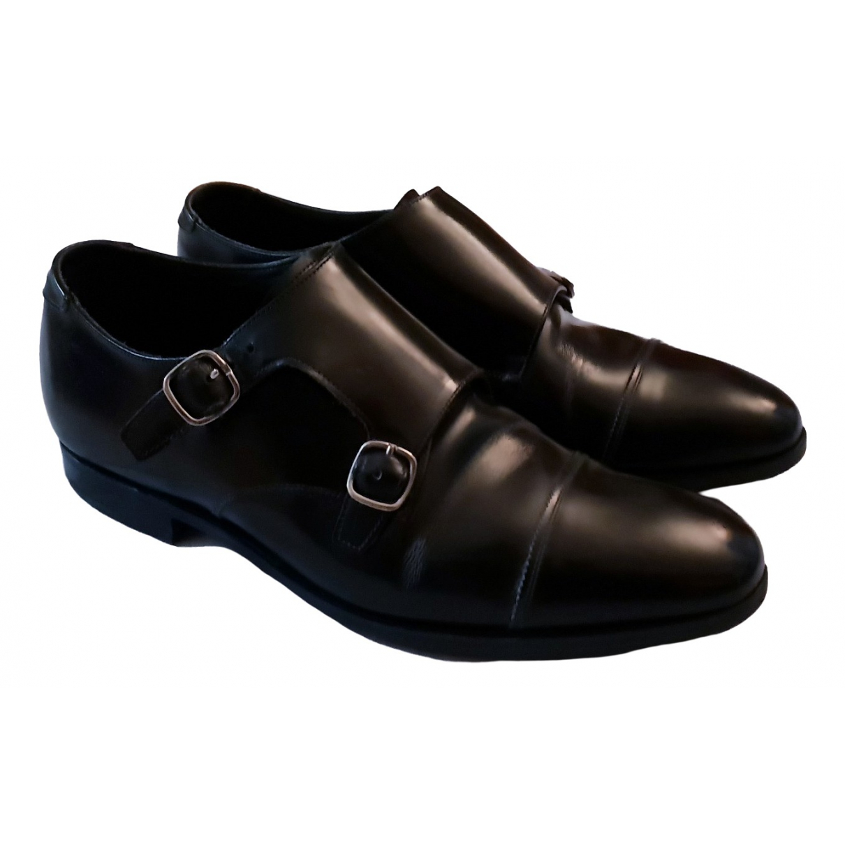 Church's \N Black Leather Lace ups for Men 6.5 UK