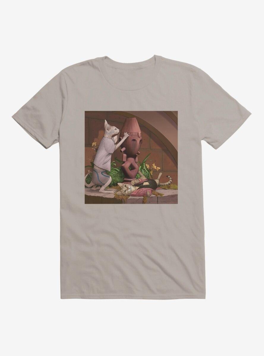 Star Trek The Next Generation Cats Relaxing T-Shirt