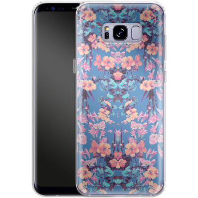 Samsung Galaxy S8 Plus Silikon Handyhuelle - Ornamental Love von Zala Farah