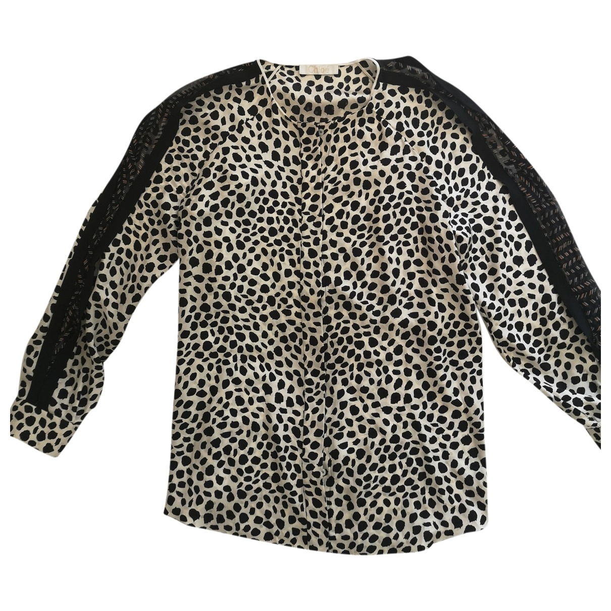 Chloé \N Multicolour Silk  top for Women 44 FR