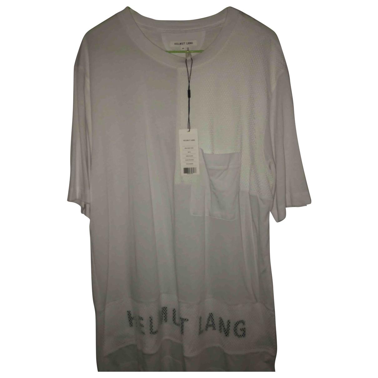 Helmut Lang \N White Cotton T-shirts for Men M International