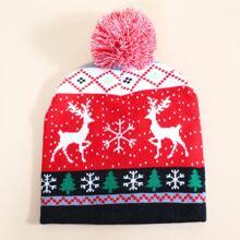 Christmas Pattern Beanie