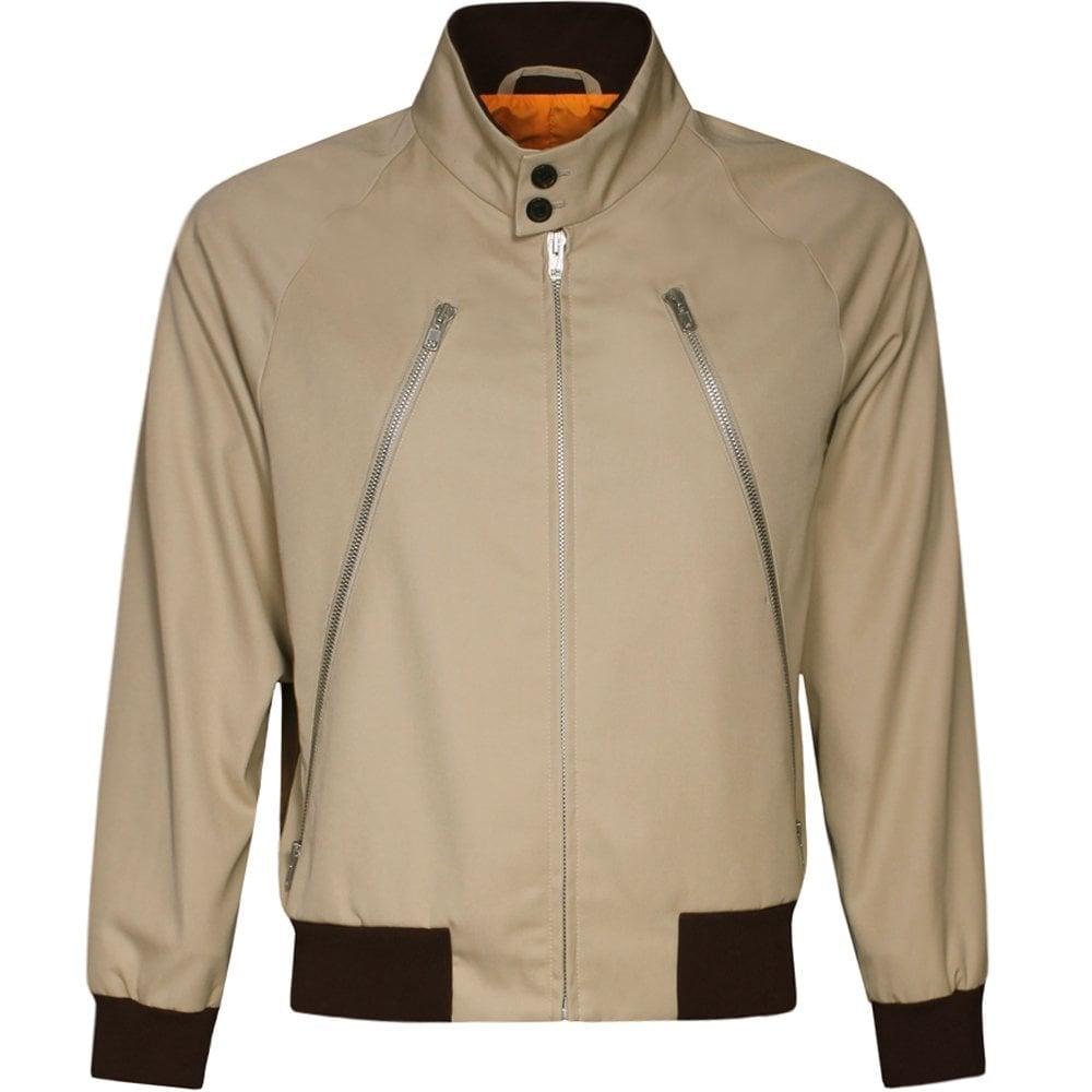 Maison Margiela Sports Jacket Beige Colour: BEIGE, Size: LARGE