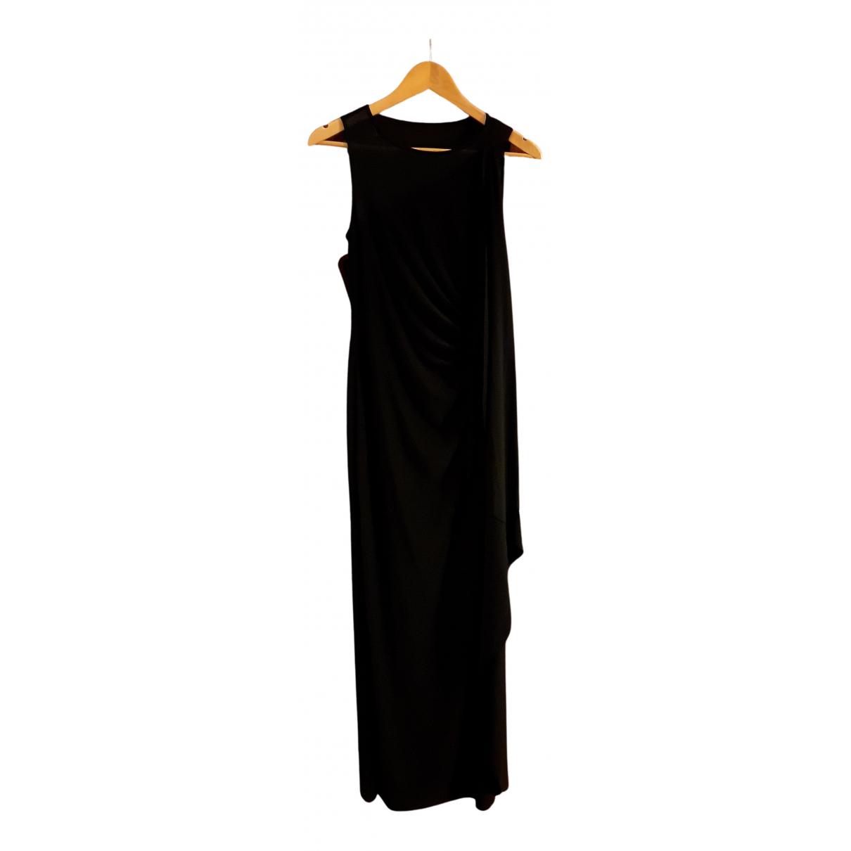 Lauren Ralph Lauren N Black Silk dress for Women 2 US