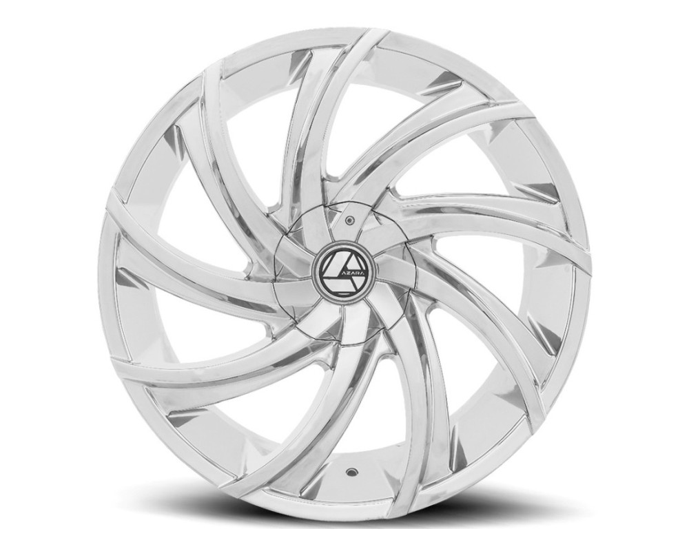 Azara 503 Wheel 24x9 Blank 18mm Chrome
