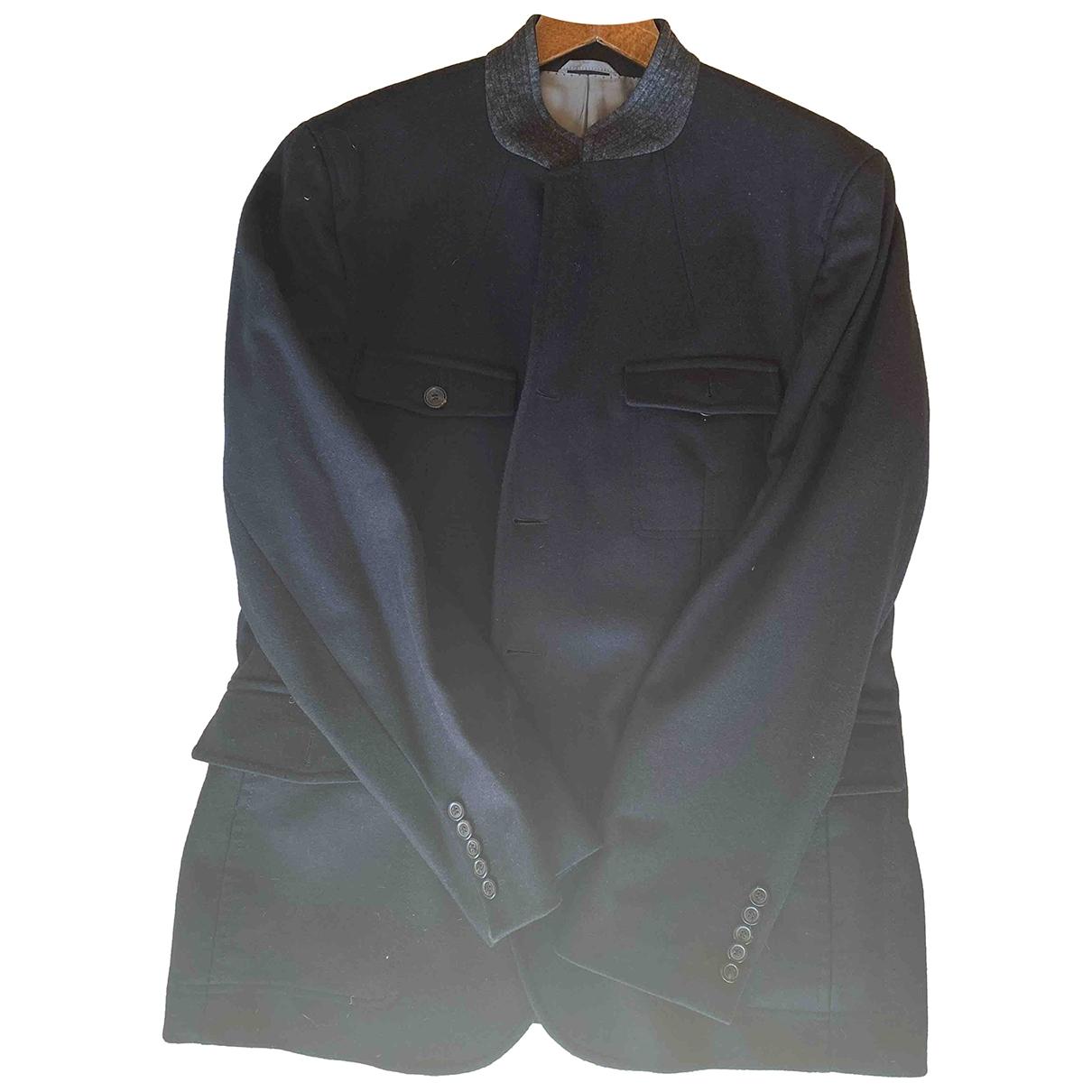 Boss \N Black Wool jacket  for Men 56 IT
