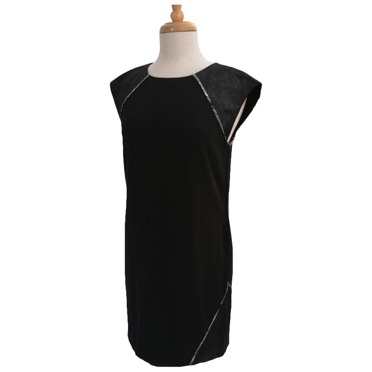 Catherine Malandrino \N Kleid in  Schwarz Polyester