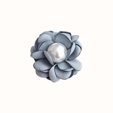 Faux Pearl Decor 3D Flower Stand-Out Phone Holder