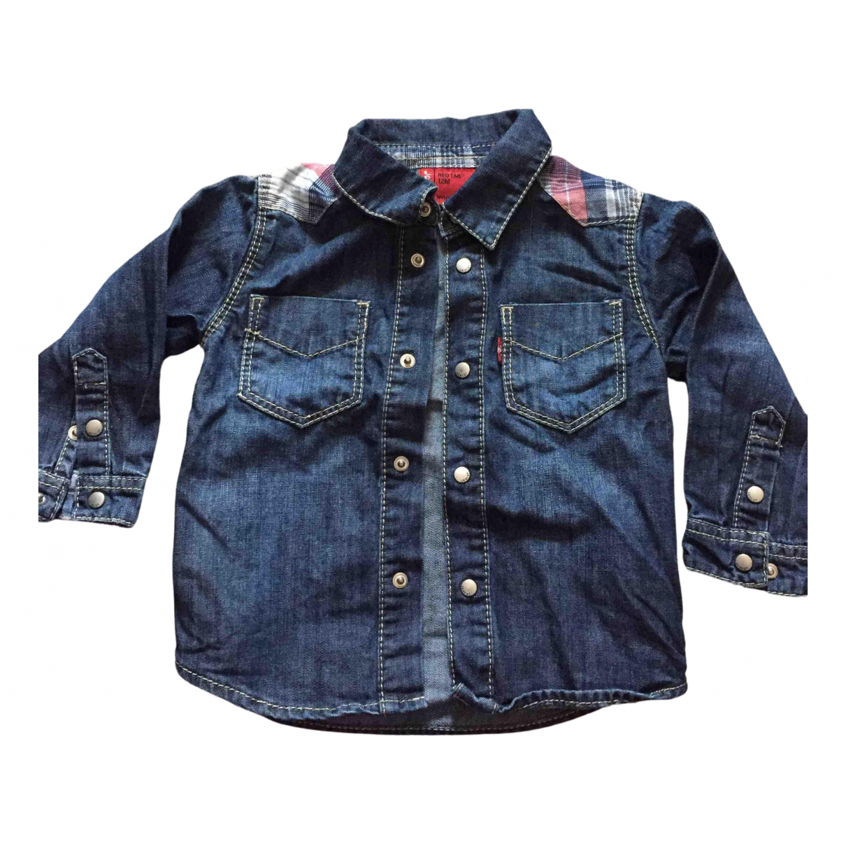 Levi's N Blue Cotton  top for Kids 12 months - up to 74cm FR