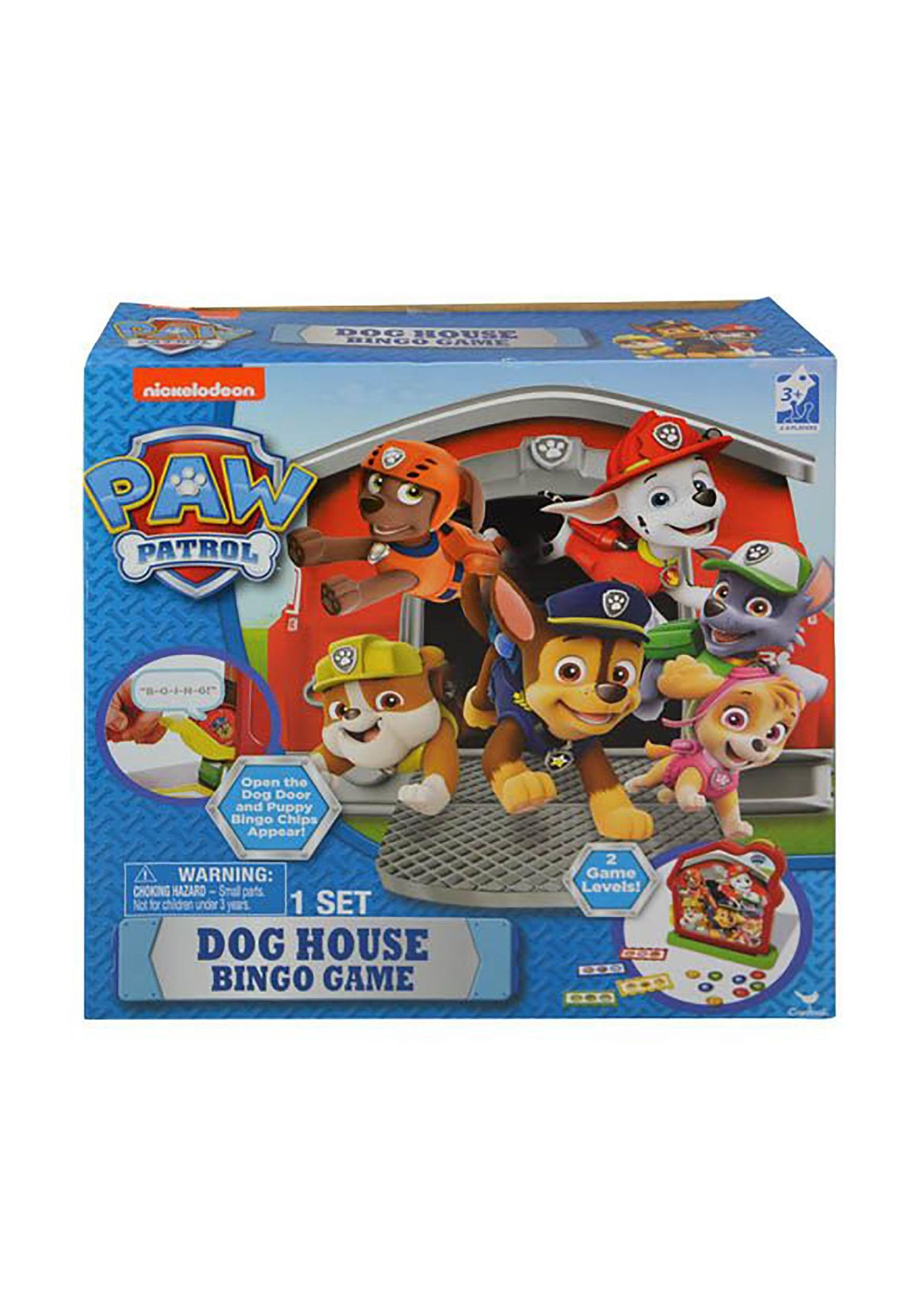 Dog House Paw Patrol Bingo Game