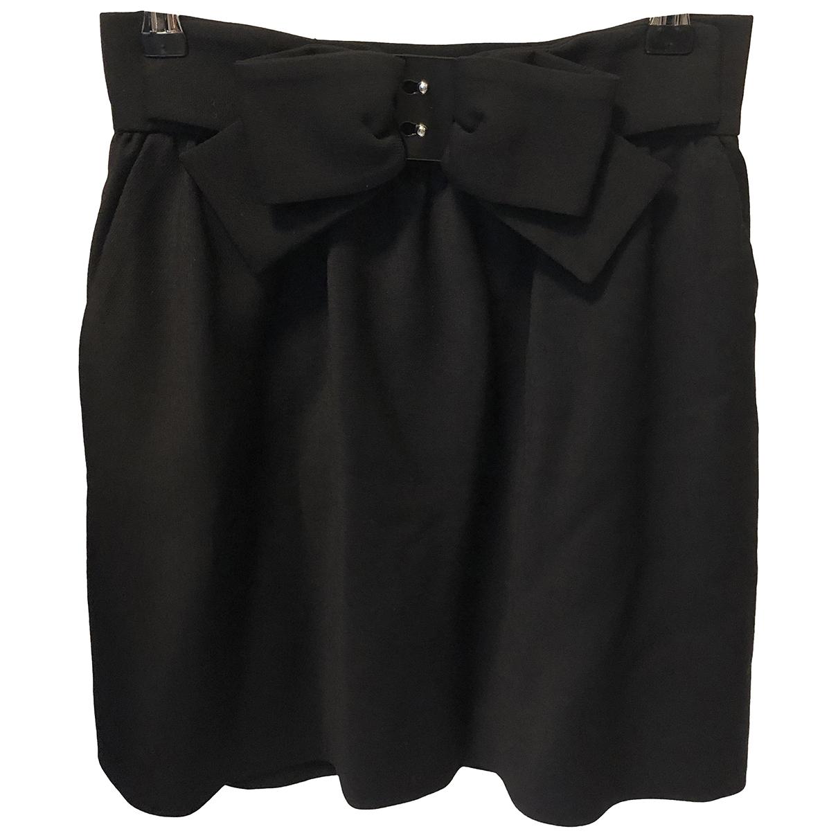 Red Valentino Garavani \N Black skirt for Women 38 IT