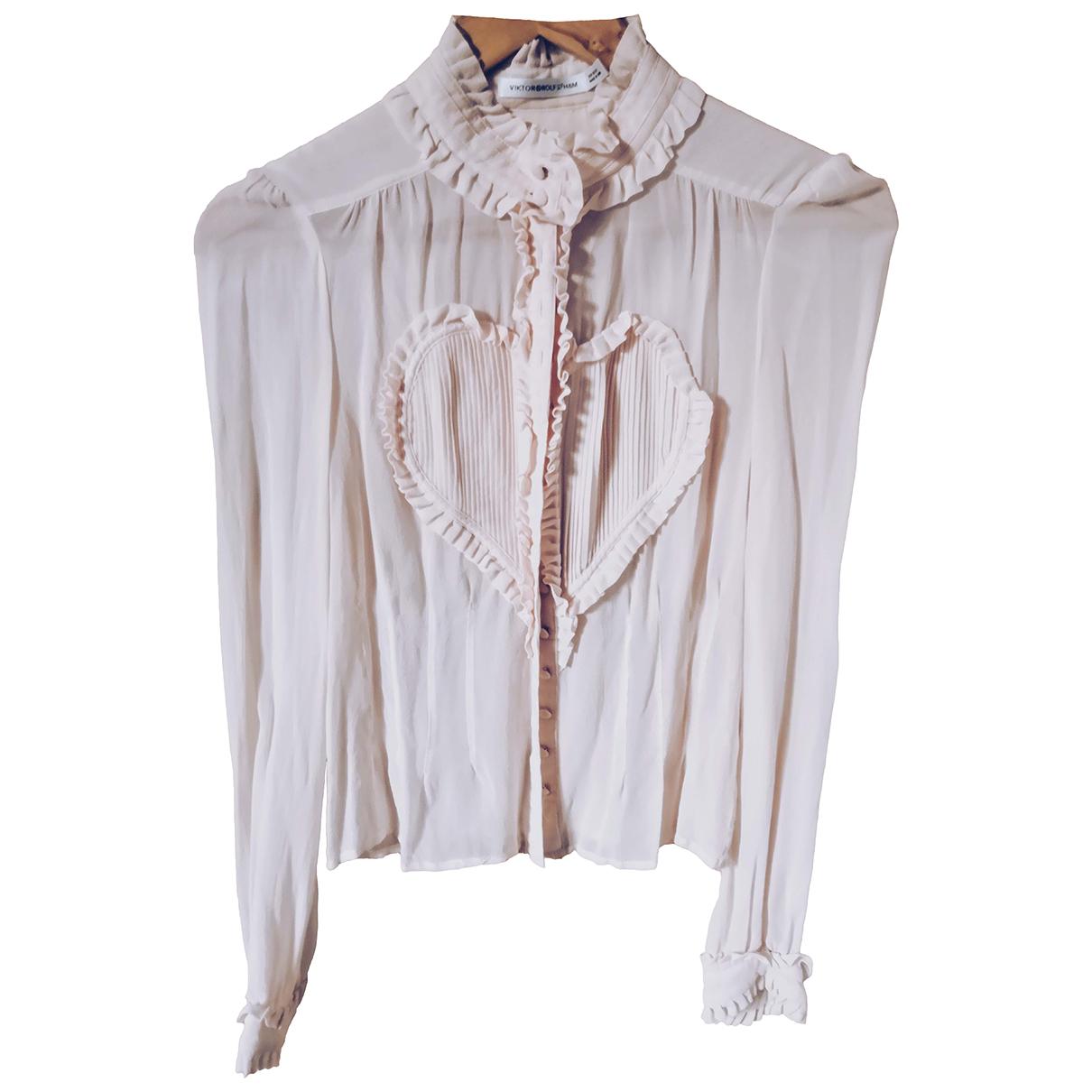 Camisa de Seda Viktor & Rolf By H&m