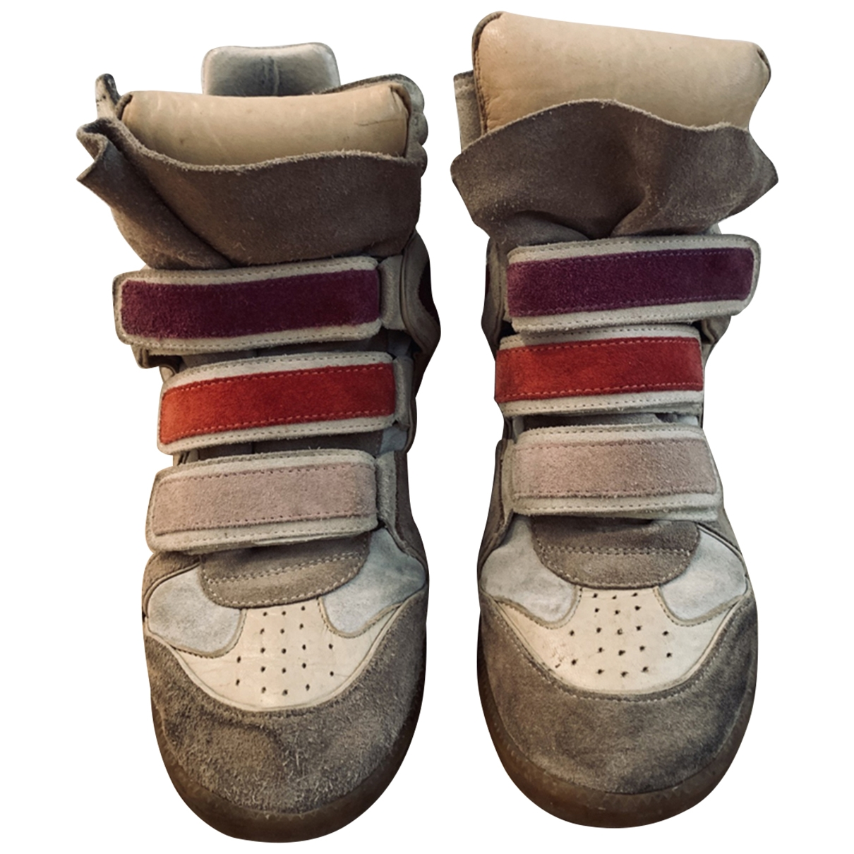 Isabel Marant Beckett Sneakers in  Bunt Leder