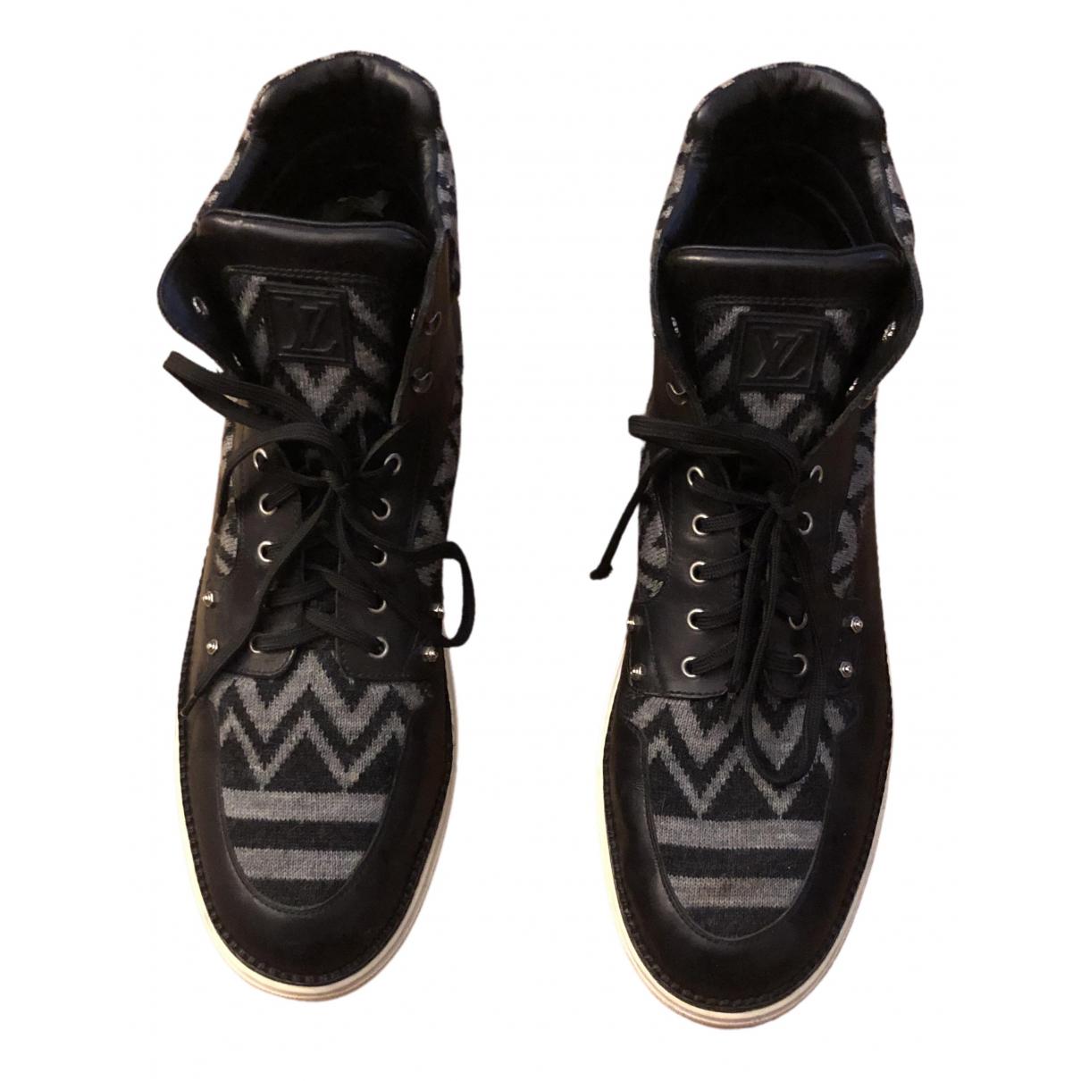 Louis Vuitton \N Black Leather Boots for Men 46 EU