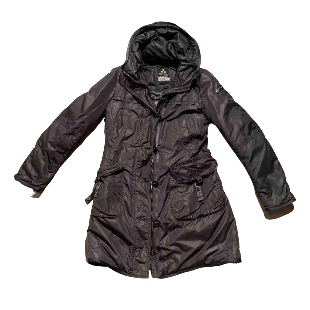 Peuterey - Manteau   pour femme - gris