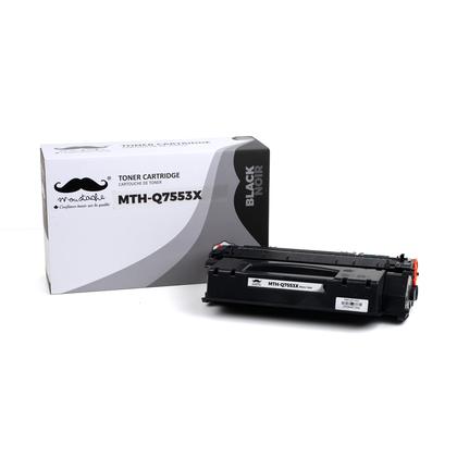 Compatible HP 53X Q7553X cartouche de toner noire haute capacité - Moustache®