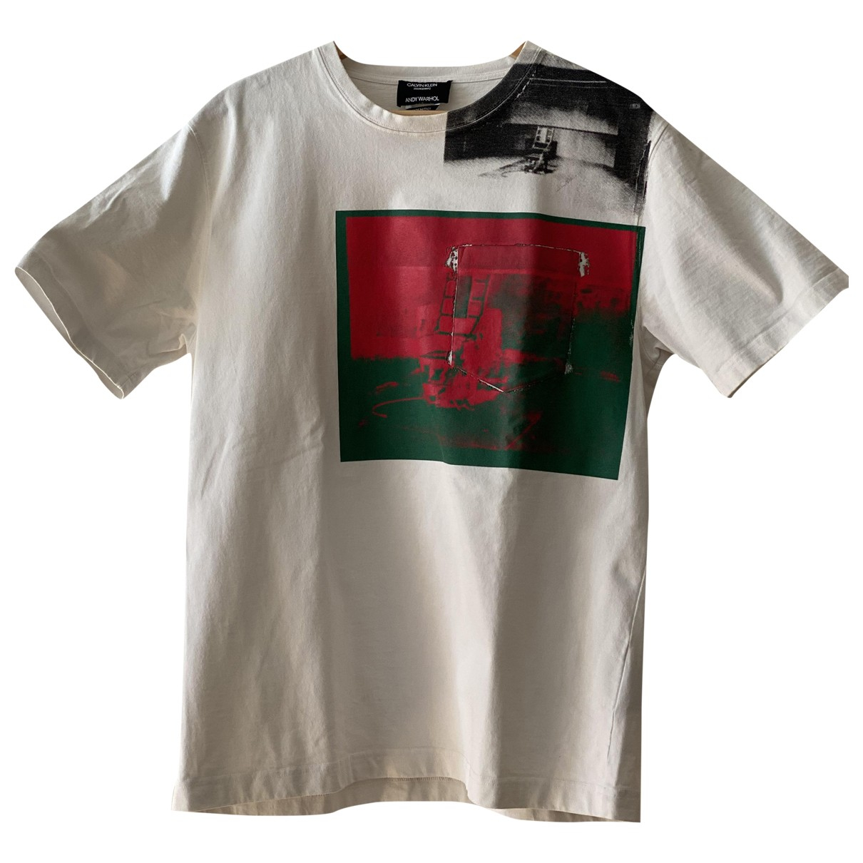 Calvin Klein 205w39nyc \N White Cotton T-shirts for Men L International