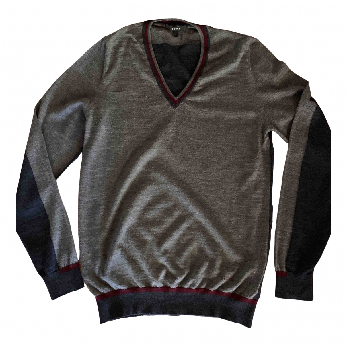 Gucci \N Anthracite Wool Knitwear & Sweatshirts for Men S International
