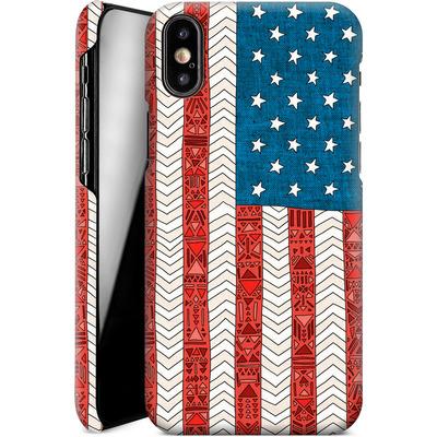 Apple iPhone X Smartphone Huelle - USA von Bianca Green
