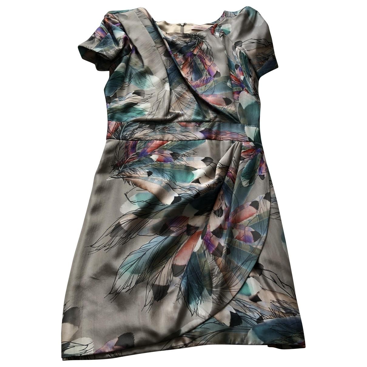 Mini vestido de Seda Matthew Williamson