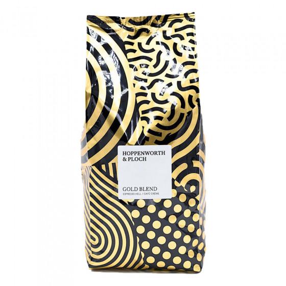 """Kaffeebohnen Hoppenworth & Ploch Kaffeerosterei """"Espresso Goldblend"""", 1 kg"""