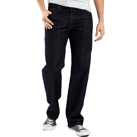 Levi's 550 Relaxed Fit Jeans-Big & Tall, 38 38, Black