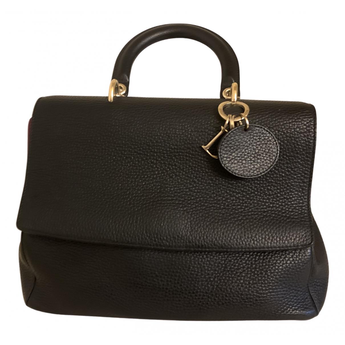 Dior Diorissimo Black Patent leather handbag for Women \N