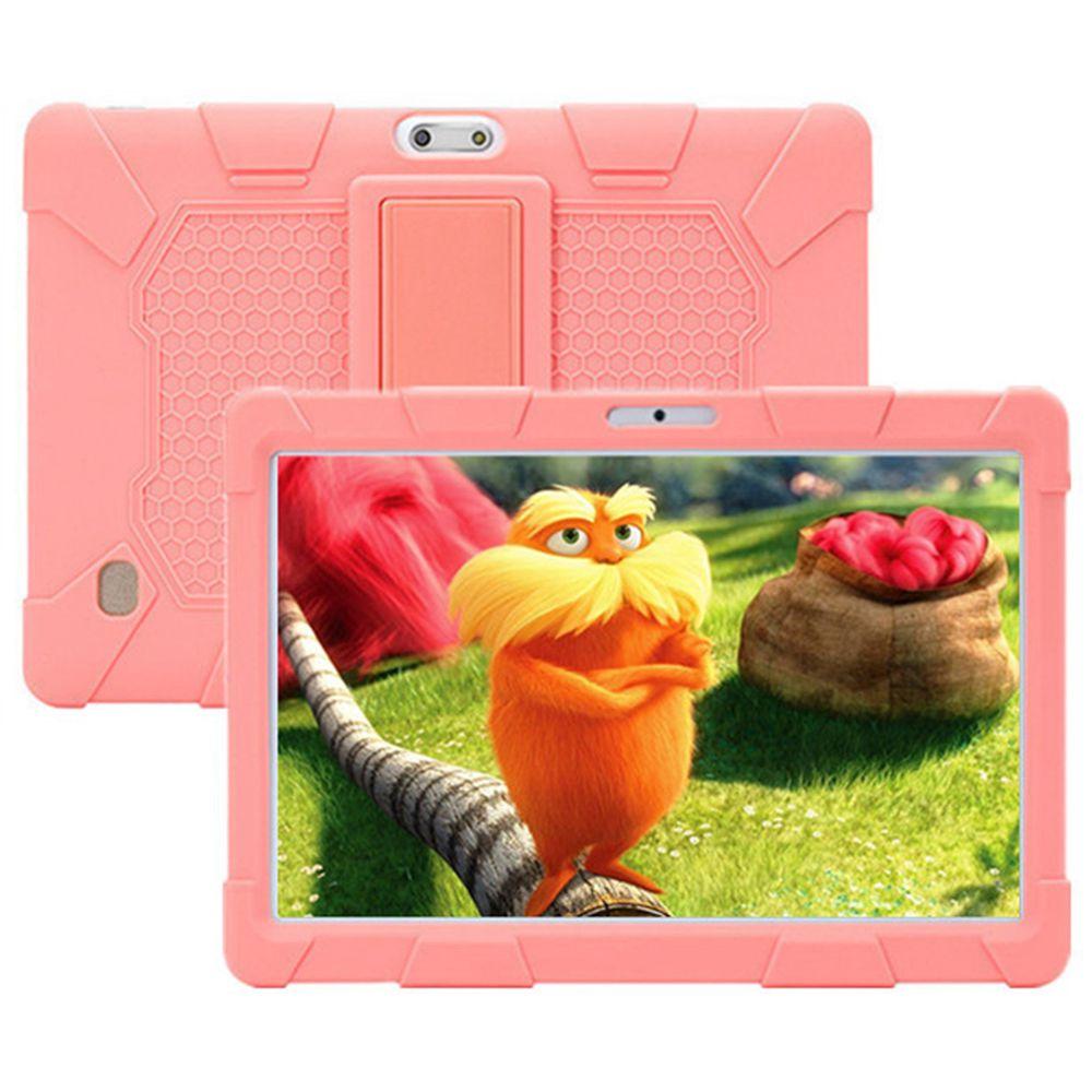 Binai Mini101s Kids Tablet PC MT6580 10.1 Inch 1280*800 Screen Android 7.0 2GB RAM 32GB eMMC - Pink