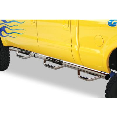 Go Rhino Dominator D3 SideSteps (Polished Stainless Steel) - D36227PS
