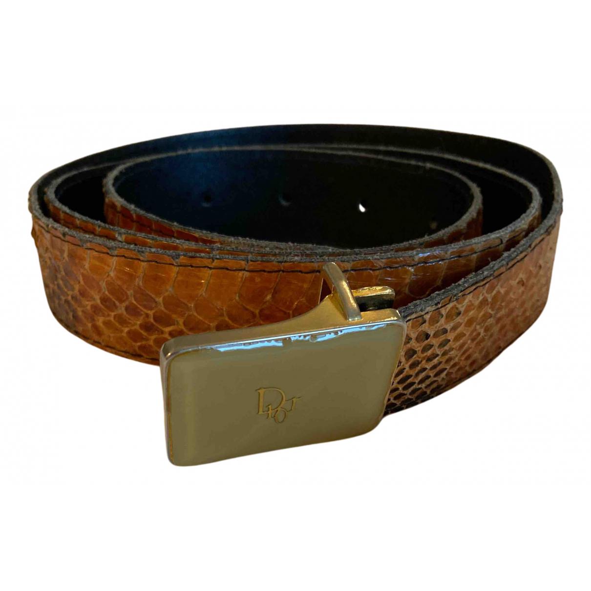 Cinturon de Piton Dior