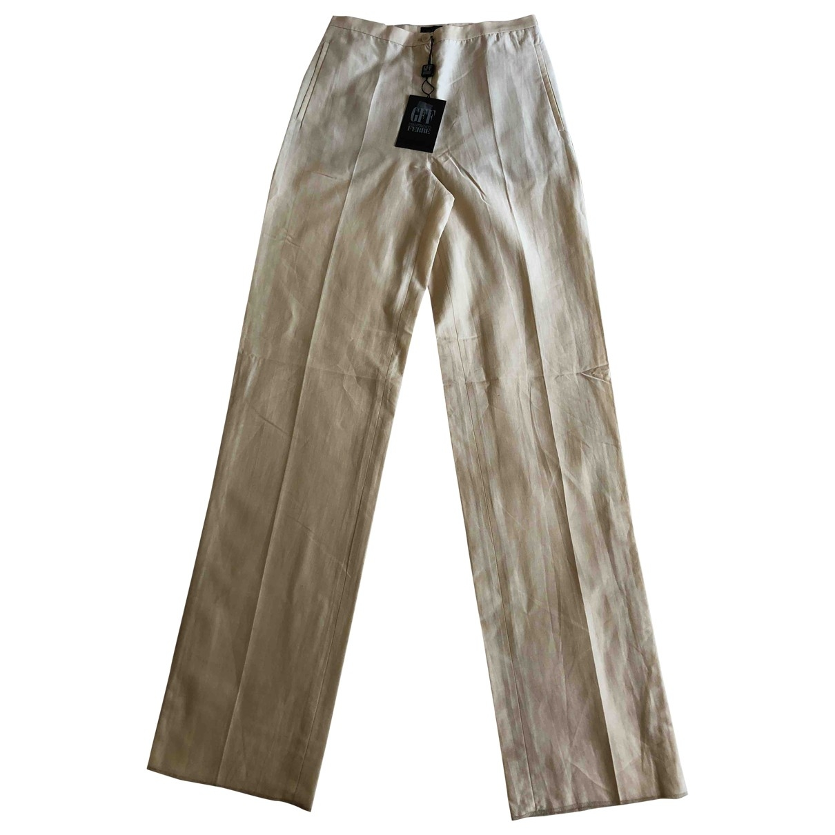 Gianfranco Ferré \N Cotton Trousers for Women 40 IT