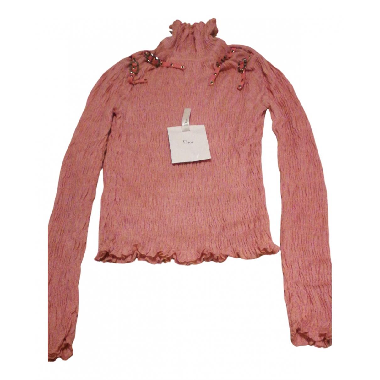 Dior N Pink Cashmere Knitwear for Women 42 FR