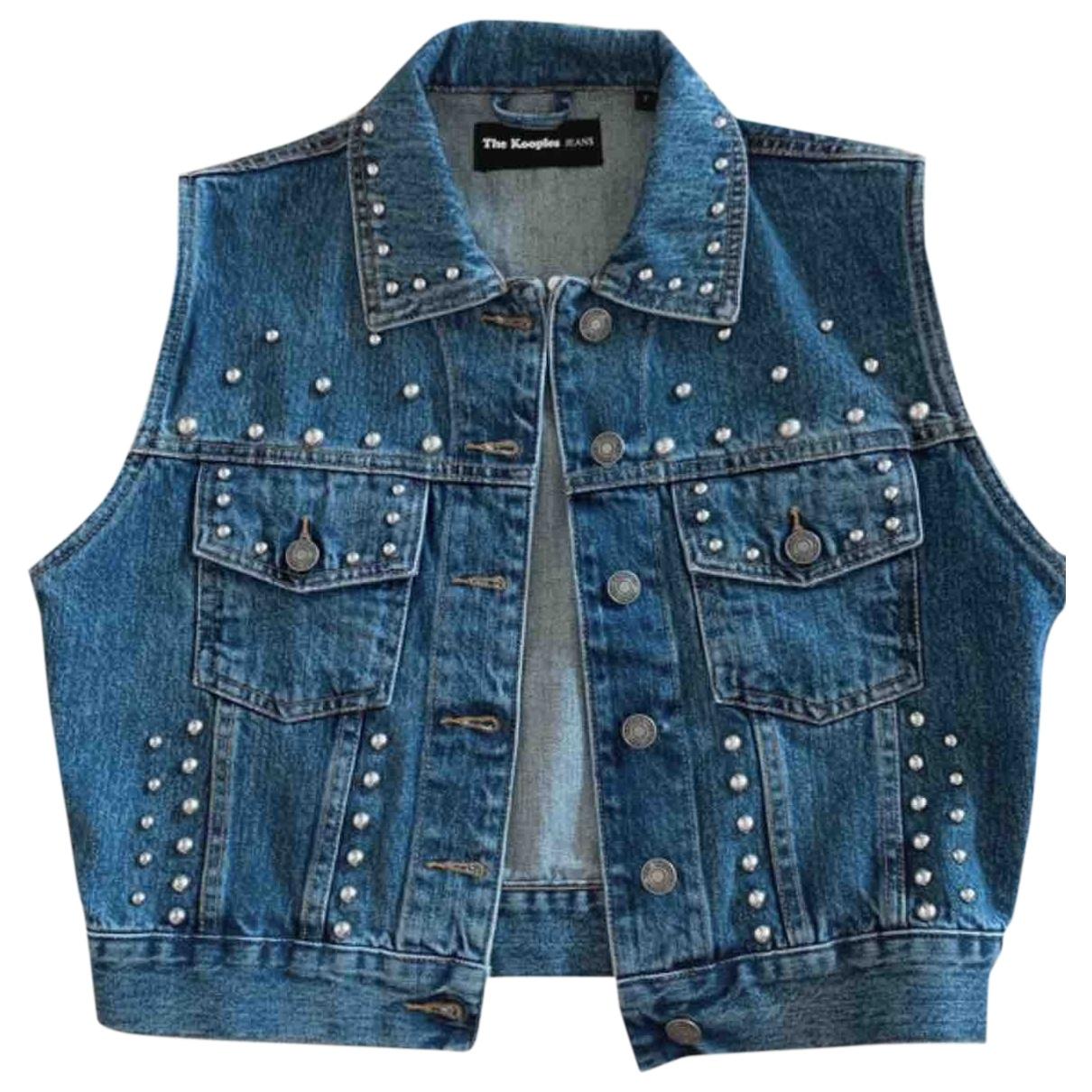 The Kooples \N Blue Denim - Jeans jacket for Women 38 FR