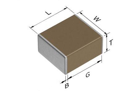 TDK 2220 (5650M) 2.2μF Multilayer Ceramic Capacitor MLCC 250V dc ±10% SMD C5750X7T2E225K250KA (500)