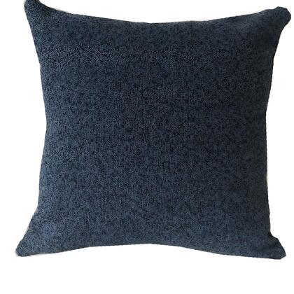 Midnight Collection PBRA1403-2626-DP Double sided  26 x 26 Plutus Gray Dove Luxury Throw Pillow in Gray