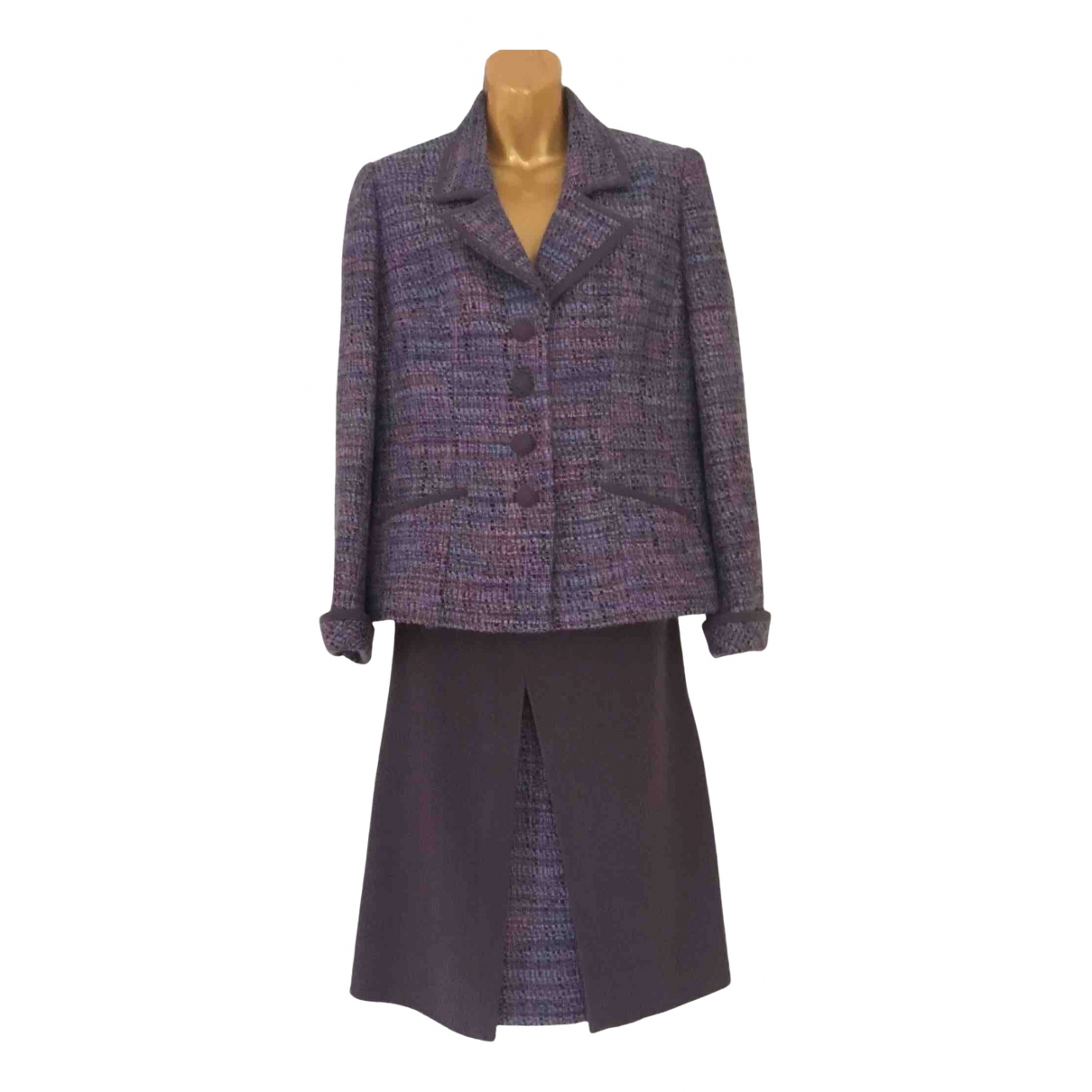 Non Signé / Unsigned \N Wool jacket for Women 14 UK