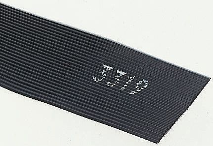 3M 26 Way Unscreened Flat Ribbon Cable, 33.02 mm Width, Series 3319, 5m