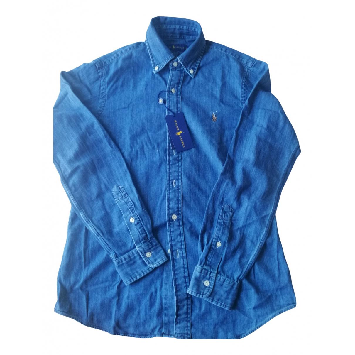 Ralph Lauren - Chemises   pour homme en denim - bleu