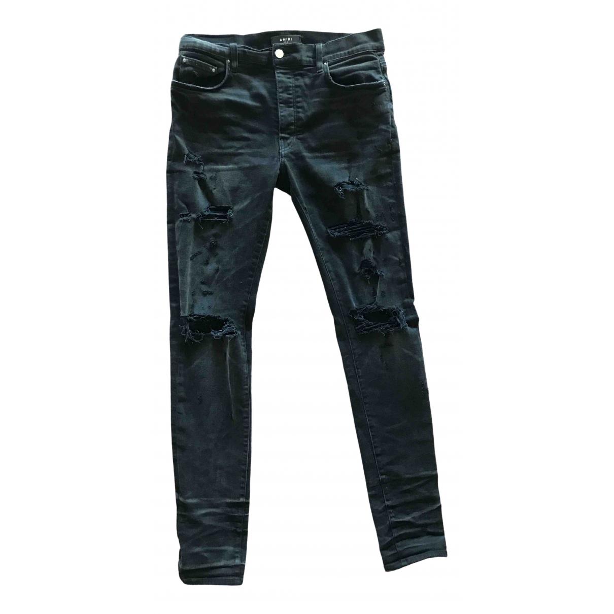 Amiri \N Black Cotton Jeans for Men 34 US